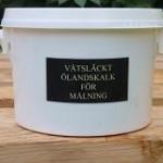 Produkter - Våtsläckt ölandskalk för målning 1,5l