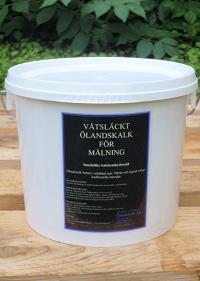 Produkter - våtsläckt ölandskalk för målning