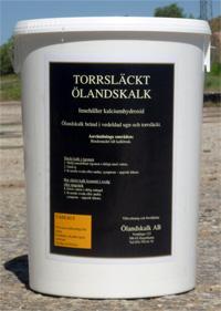 Produkter - Torrsläckt Hydraulisk Ölandskalk